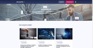 La plateforme d'apprentissage en ligne d'aivancity, aivancity X, propose notamment des programmes certifiants