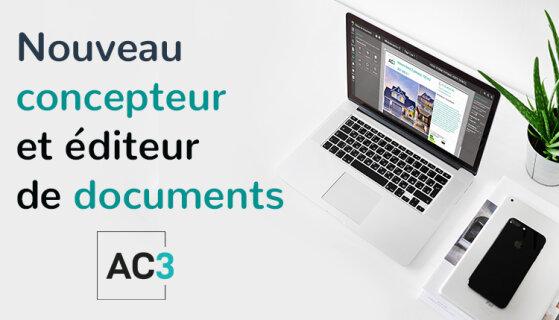 AC3 lance son nouveau concepteur de documents - D.R.