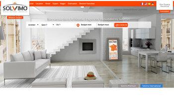 Un site web flambant neuf pour Solvimo - D.R.