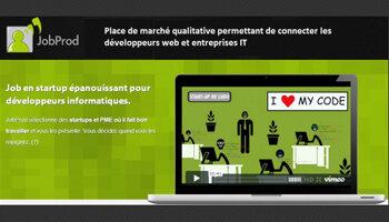 JobProd aide les start-up à dénicher des développeurs - D.R.