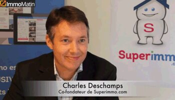 3 min avec Charles Deschamps, Superimmo - D.R.