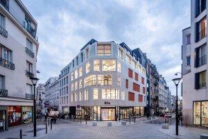 Le bâtiment de la 360 Music Factory. - © Luc BOEGLY photographe / Agence Engasser architecture