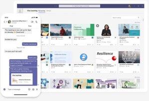 Microsoft Viva: l'engagement collaborateur (copie d'écran)