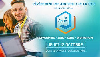 Le Jour J: l'événement des pros de la «Tech» organisé par LesJeudis - D.R.