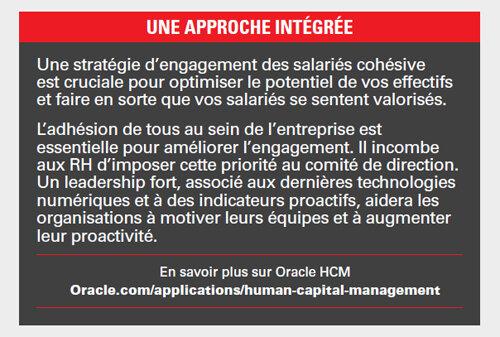 Infographie - Qu'est-ce qui stimule l'engagement des salariés ?-D.R.
