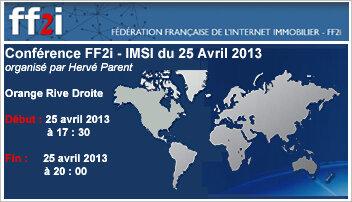 Agenda «Le numérique dans la copropriété»: «les syndics au défi de la transparence», Jeudi 25 avril 2013 - D.R.