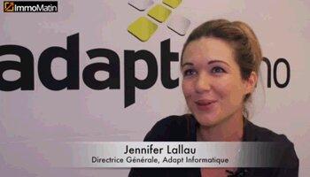 3 min avec Jennifer Lallau, directrice générale d'Adapt Informatique - D.R.