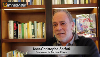3 min avec Jean-Christophe Serfati, Surface Privée - D.R.