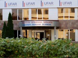 L'Université française en Arménie se situe dans la capitale du pays à Erevan.