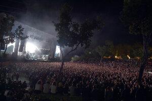 La grande scène du festival Aluna.