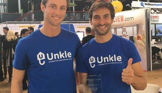 Unkle remporte le trophée de la start-up RENT 2018 - D.R.