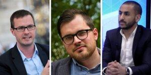 Romain Pierronnet, Hugo Gaillard, Tarik Chakor ont travaillé sur l'étude News Tank - Adoc Mètis.