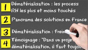 Dématérialisation: état des lieux - D.R.