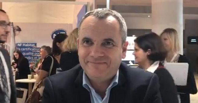 Nicolas Elie, président de la société LeLED-