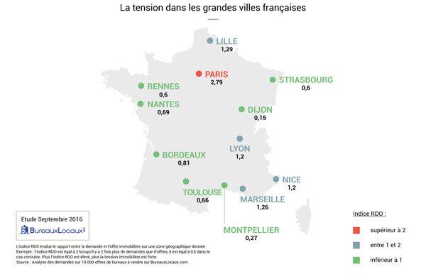 Infographie : où en est le marché de la vente de bureaux en France ?-D.R.