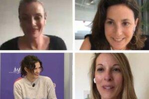 4 lauréates startupeuses du concours Tremplin Startups - © D.R.