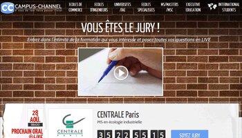 Figaro Classifieds s'empare de la plate-forme de vidéos Campus-Channel - D.R.