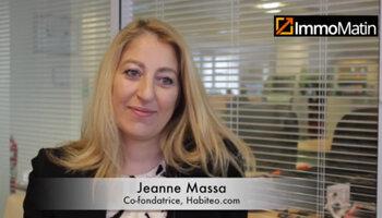 3 min avec Jeanne Massa, co-fondatrice d'Habiteo.com - D.R.