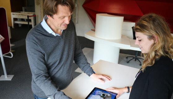 «Le Compositeur Digital réinvente le dialogue en agences», Denis Tellier, Excense - D.R.