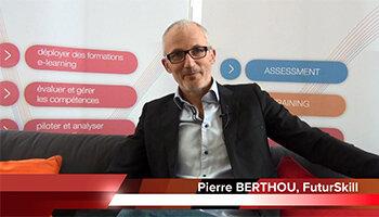 4 min 30 avec Pierre Berthou, directeur général de FuturSkill Software - D.R.