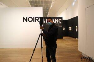 Numérisation de l'exposition «Noir & Blanc» au Grand Palais.