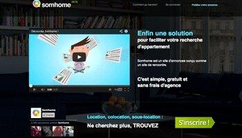 Somhome: le site de rencontres entre propriétaires et locataires - D.R.