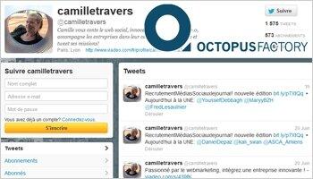 Mes 10 tweets RH du mois, par Camille Travers - D.R.