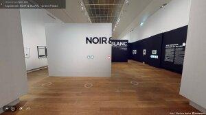 Visite virtuelle de l'exposition «Noir et Blanc», disponible jusqu'au 18 juin. - © D.R.