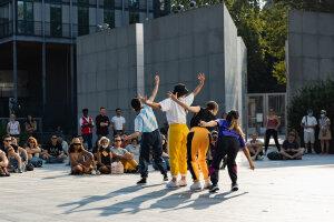 La Bahia Dance Company à l'Institut du Monde Arabe (Paris 5e) le 21 juillet 2021 - © Guillaume Bontemps/Ville de Paris