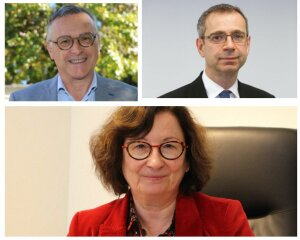 Patrick Gilli, Fabienne Blaise, Pierre Desbiolles