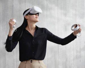 Casque VR Oculus Quest 2 par Facebook - © D.R.