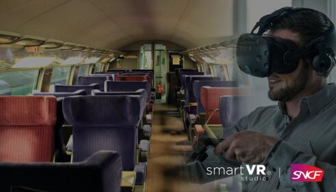 La SNCF se forme aux risques incendies avec la réalité virtuelle - D.R.