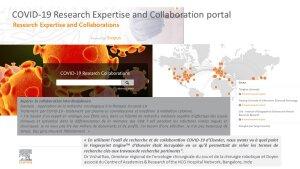 Portail pour la collaboration sur la Covid-19 © Elsevier