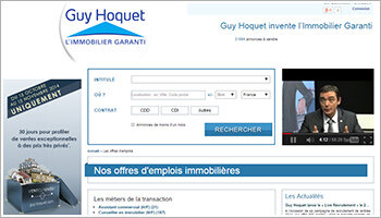 Guy Hoquet continue à recruter massivement en CDI - D.R.