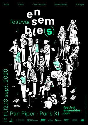 L'affiche du festival Ensemble(s)