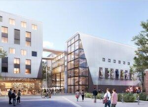 Futur campus d'ArtFX Lille © ArtFX