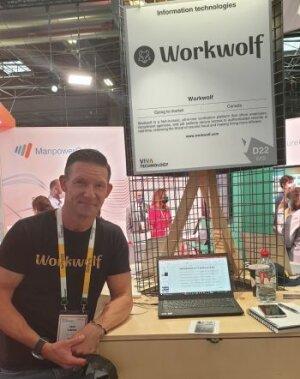 Erik Simins, CEO Workwolf - © D.R.