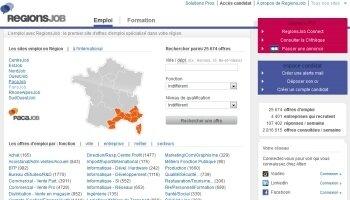 RegionsJobse connecte aux réseaux sociaux - D.R.