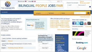 CareerBuilder rachète Top Language Jobs: leader mondial du recrutement multilingue en ligne - D.R.