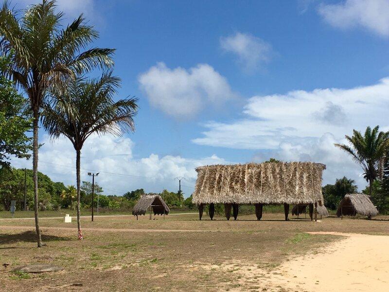 Carbet communautaire à Awala-Yalimapo