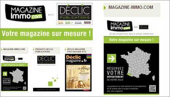 Déclic Publications propose des magazines immo clés en main - D.R.