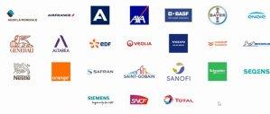 Les 24 entreprises sous le sceau du Label Engagement Jeunes en 2021 - © D.R.