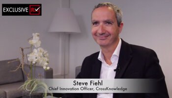 3 min avec Steve Fiehl, CIO de CrossKnowledge - D.R.