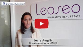 Témoignage vidéo: «BureauxLocaux est un portail  incontournable dans l'immobilier d'entreprise», Laure Angelin, LEASEO - D.R.