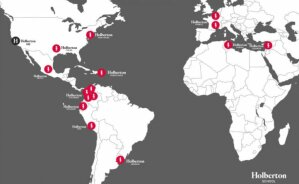 Holberton: réseau mondial (décembre 2020) - © D.R.
