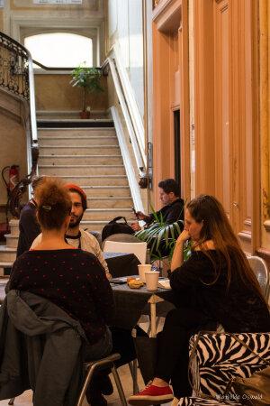 Conférence et atelier «Haute Fidélité» au Crossroads 2019 - © Mathilde Oswald