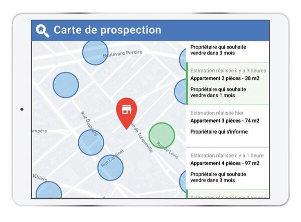 """""""Notre carte de prospection permet aux agences de capter plus de mandats"""", Olivier Daligault, MeilleursAgents-D.R."""