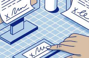 En moyenne, chaque personnel universitaire génère 5 à 10 documents qui doivent être validés - © HelloSign