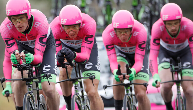Education First s'offre une équipe de cyclisme ! - D.R.
