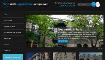 Lancement d'un nouveau site pour le marché des appartements occupés - D.R.